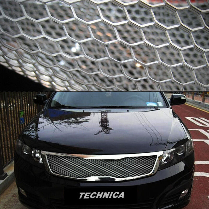 Aluminum Wire Honeycomb Hex Mesh Grille Diy Kit 19x35 For