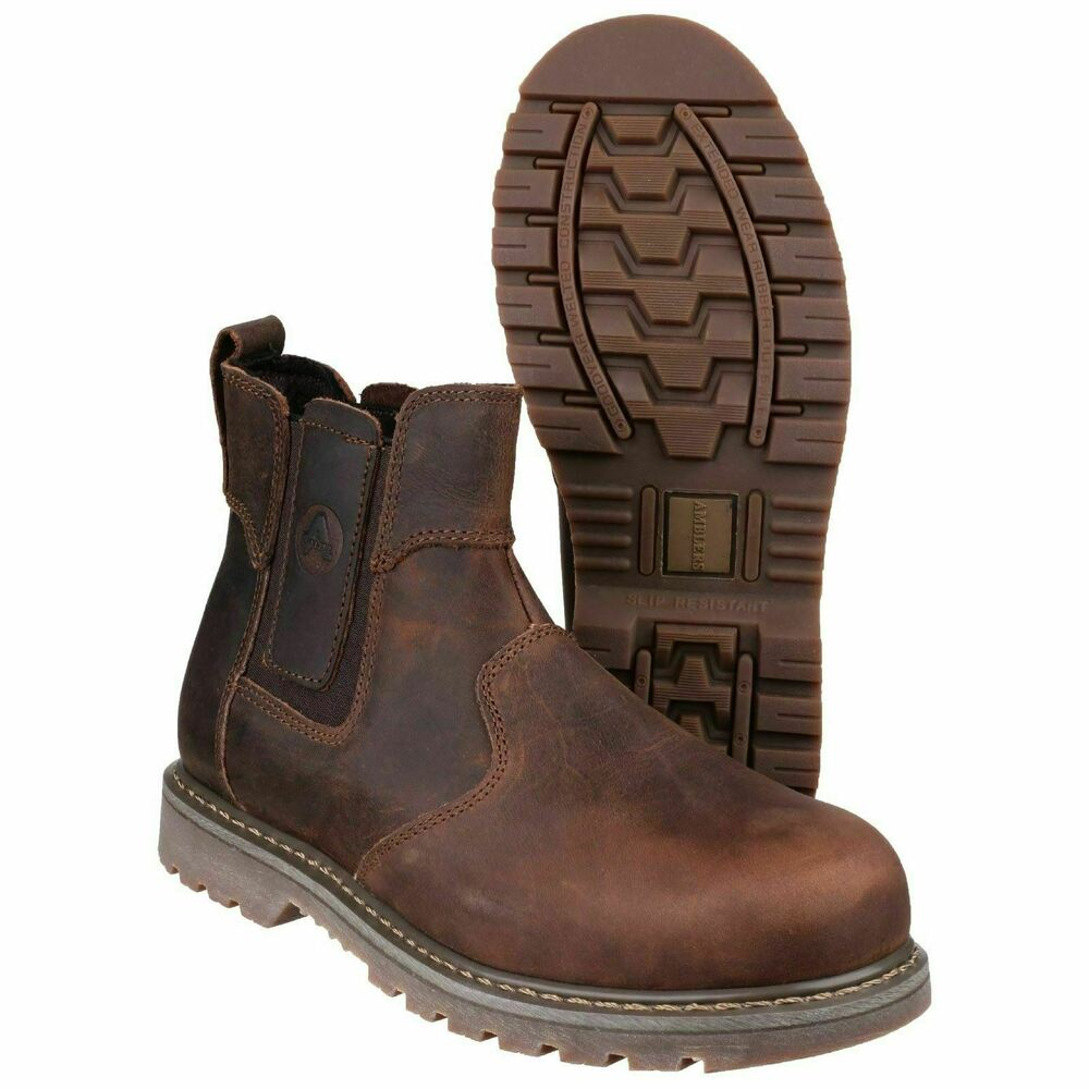 amblers brown dealer safety boots sizes 6 13 fs165 ebay