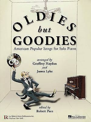 Oldies but goodies american popular songs for solo piano ebay