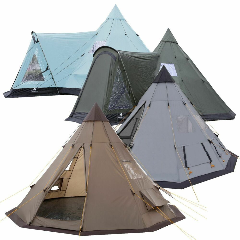 tipi zelt indianerzelt teepee campingzelt wigwam f r kinder tippi kinderzelt ebay. Black Bedroom Furniture Sets. Home Design Ideas