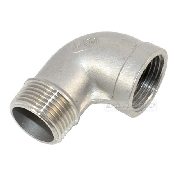 Quot female male street elbow threaded pipe fitting