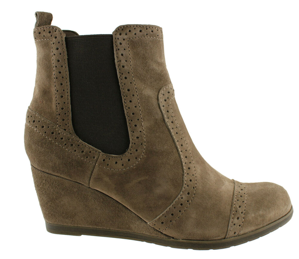 hush puppies womens suede ankle boots shoes