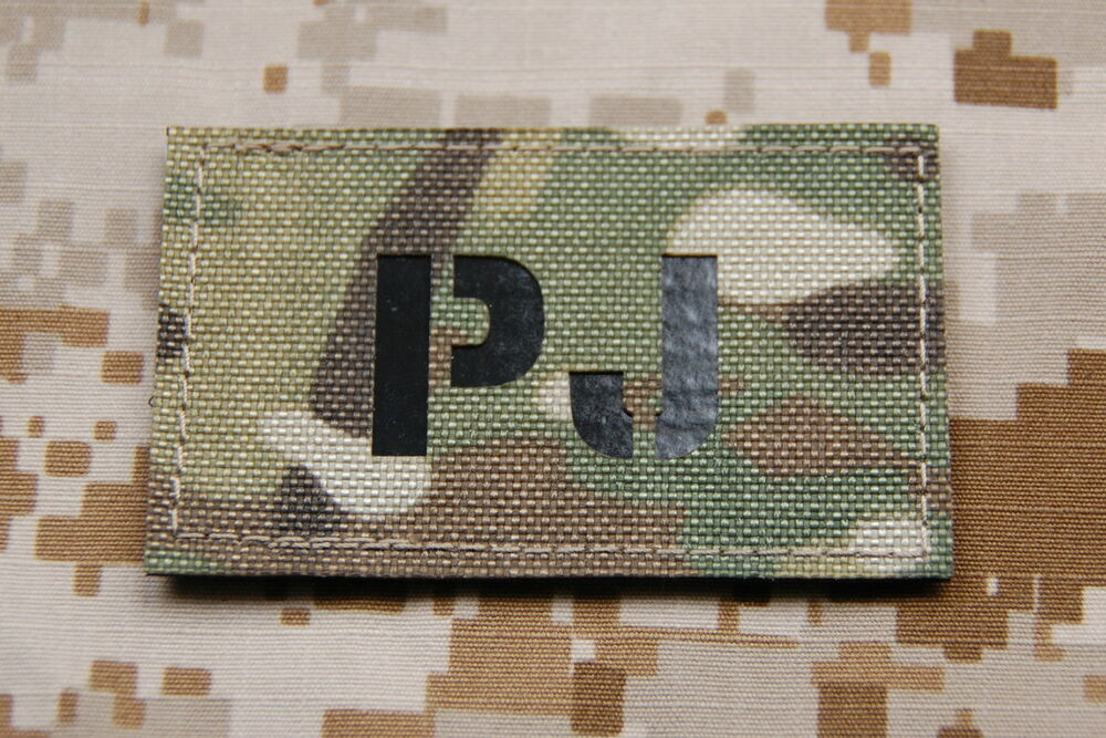 Military call sign patch