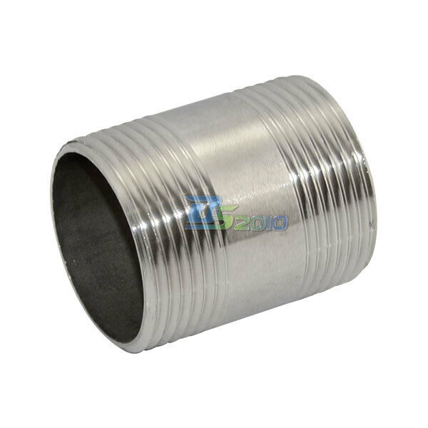 4 In Duct Fittings : Quot male threaded pipe fitting stainless