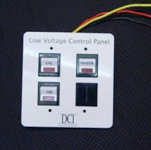 Low Voltage Control Switch : New dci low voltage triple switch control panel for dental