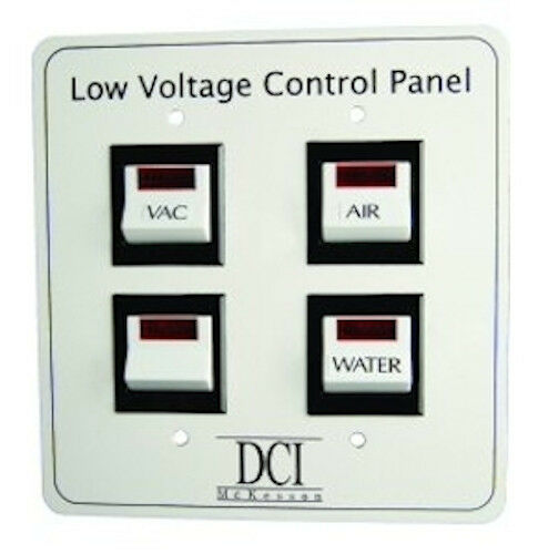 Low Voltage Switch Box : New dci low voltage quad switch control panel for dental