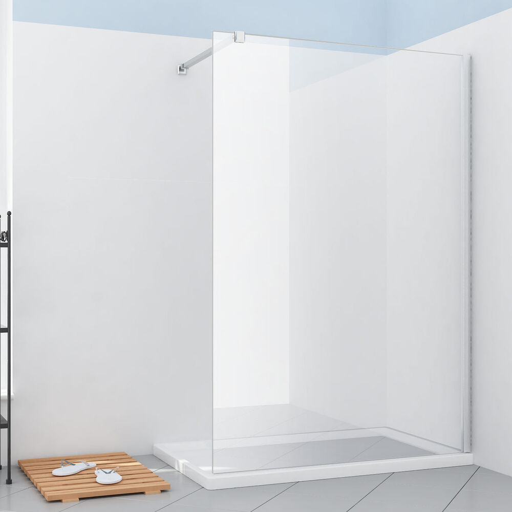 Walk In Shower Enclosure Walk In Shower Enclosure Wet Room Cubicle Screen Panel 8mm Easy