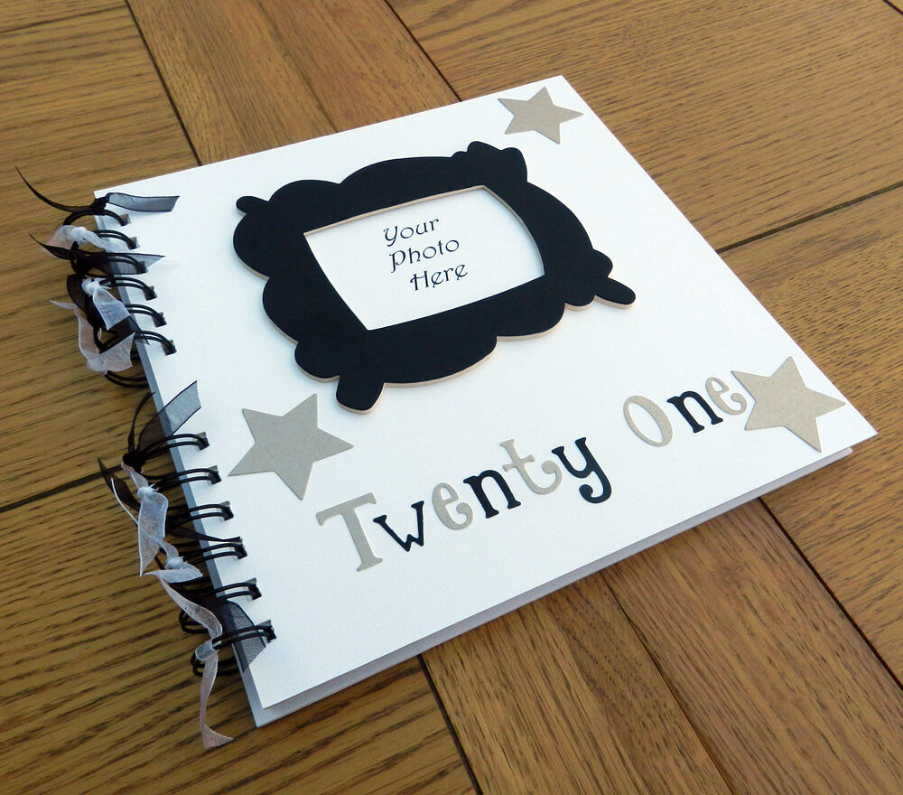 21 Ideas Guests Will: 21st Birthday (or Any Special Birthday) Guest Book Photo