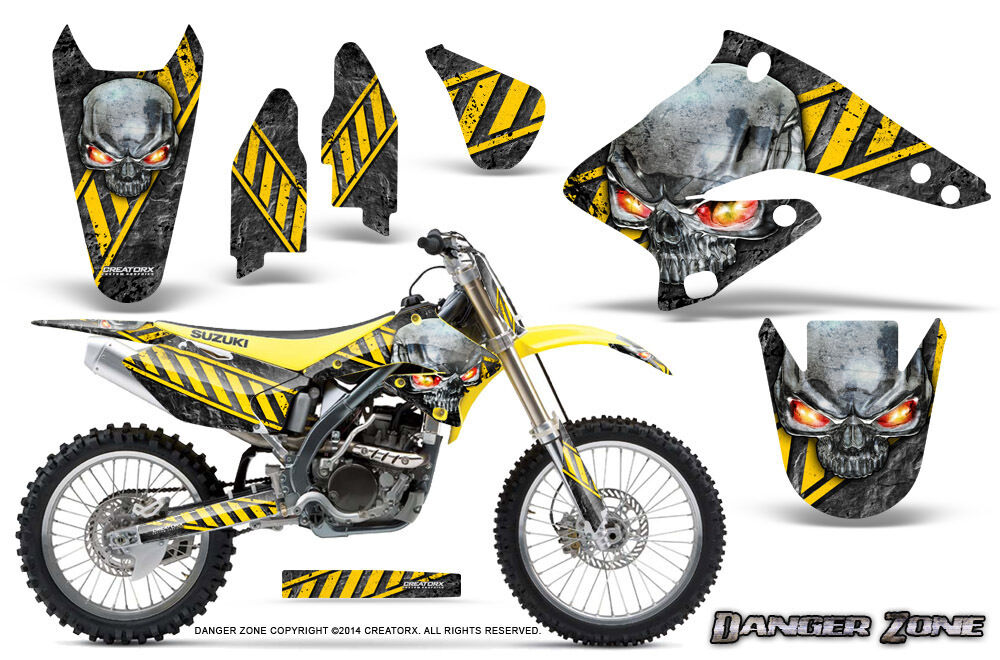 suzuki rmz 250 2004 2006 graphics kit creatorx decals. Black Bedroom Furniture Sets. Home Design Ideas