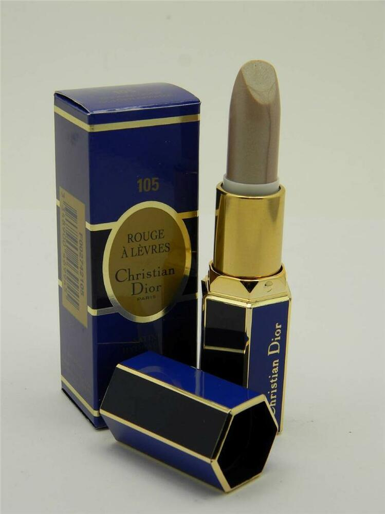 christian dior rouge a levres hydrating satin lipstick 105 golden bronze ebay. Black Bedroom Furniture Sets. Home Design Ideas