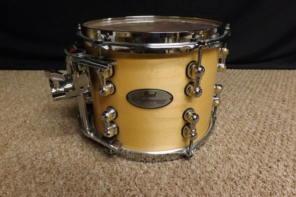 pearl reference pure 10 diameter x 8 deep rack tom natural maple 102 ebay. Black Bedroom Furniture Sets. Home Design Ideas
