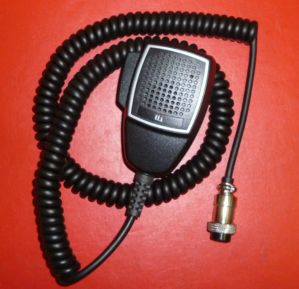 mic for tti 660 770 880  u0026 others cb radio 6 pin 6 wire mic  2 channel buttons
