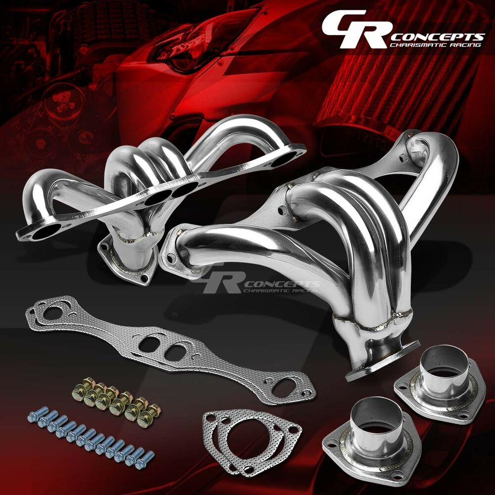 FOR CHEVY SMALL BLOCK 283/305/327/350/400 V8 STAINLESS