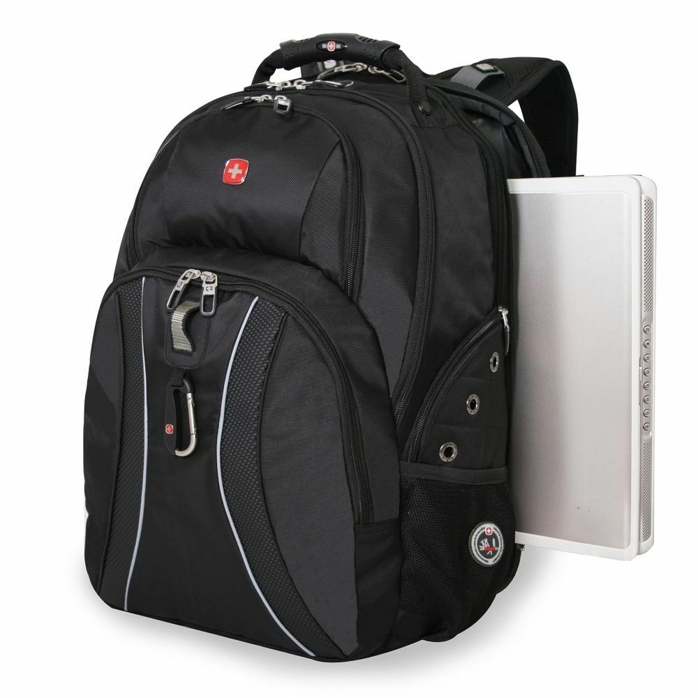 Black Swissgear Scansmart Laptop Backpack Fits Most 17