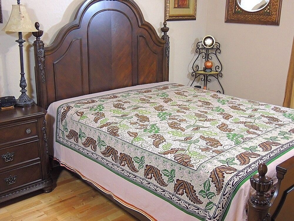 Printed Cotton Duvet Cover Reversible Affordable Indian