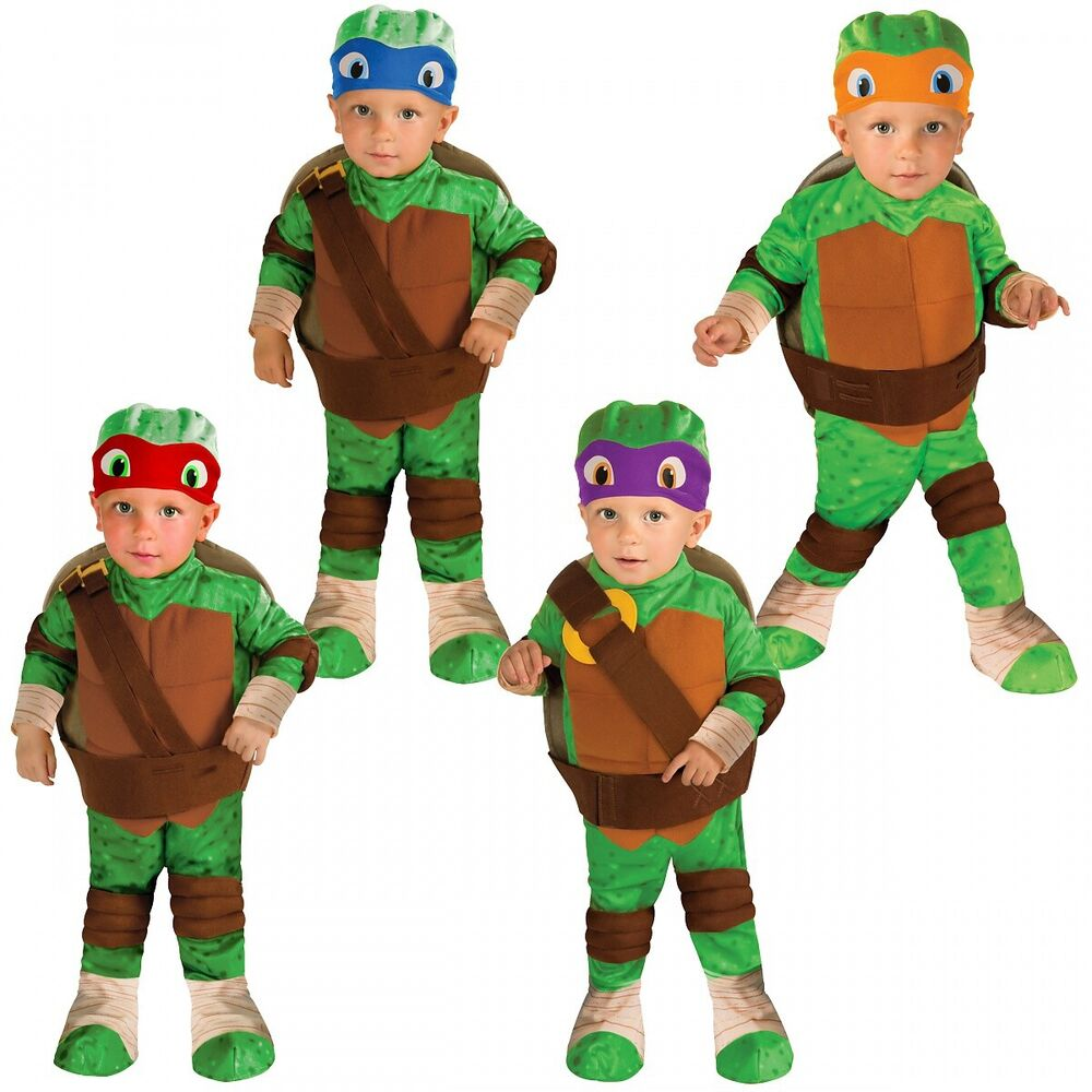 Teenage Mutant Ninja Turtle Costume Baby Toddler Halloween Fancy Dress | eBay  sc 1 st  eBay & Teenage Mutant Ninja Turtle Costume Baby Toddler Halloween Fancy ...