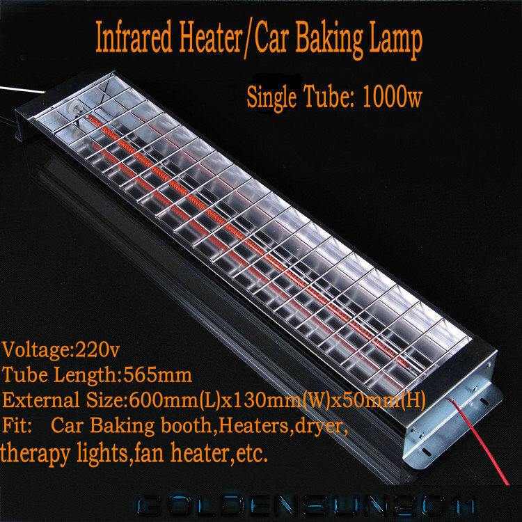 Spray baking booth infrared carbon fiber paint curing - Infrared heat lamps for bathrooms ...