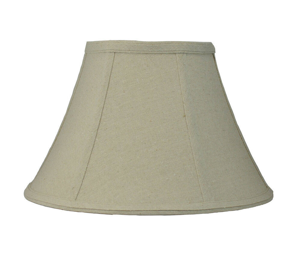 urbanest softback bell lamp shade 8 x16 x10 natrual linen spi. Black Bedroom Furniture Sets. Home Design Ideas