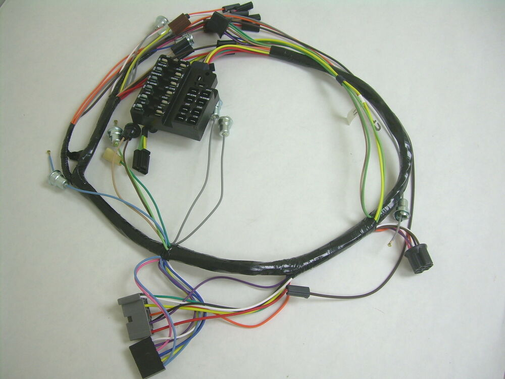 jeep under dash wiring harness under dash wiring harness 1970 impala 1958 chevy impala belair biscayne under dash wiring ...