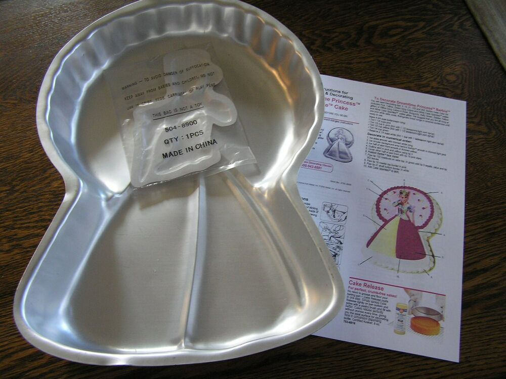 Barbie Cake Pan Instructions