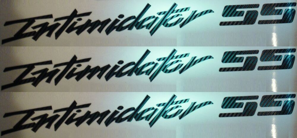 Carbon Fiber Chevy Truck Intimidator Ss Decals Set Of 3