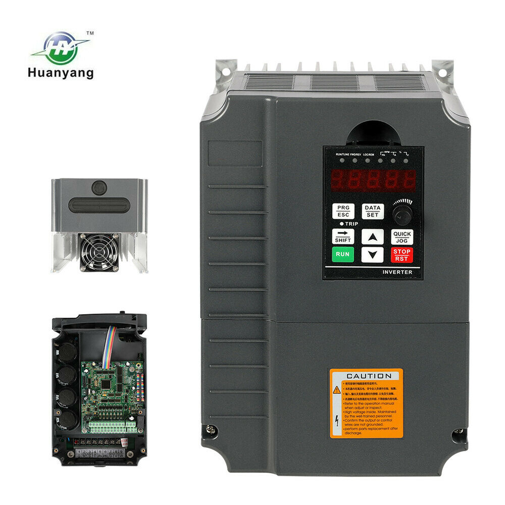 Vfd 220v 7 5kw 10hp 34a variable frequency drive inverter for Vfd for 5hp motor
