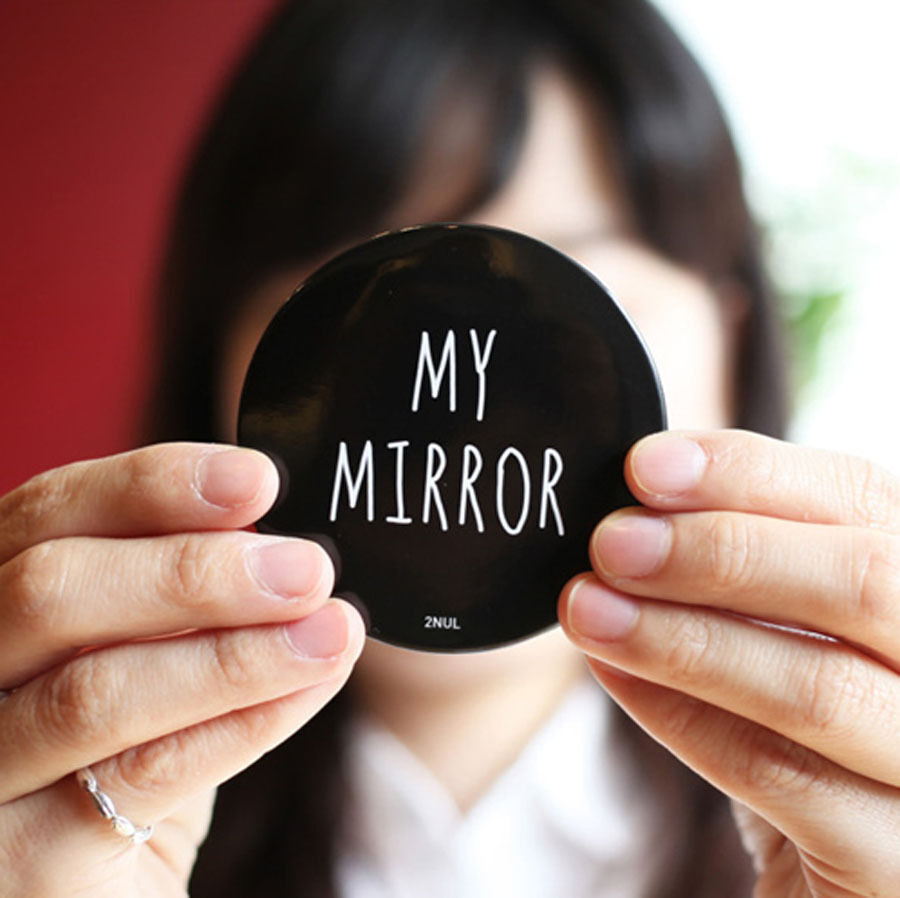 My Mirror 2nul Lady S Compact Makeup Mirror Cosmetics