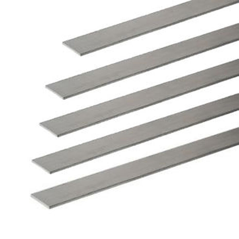 1 Quot 25 40mm X 1 5mm Aluminium Flat Bar Strip Various