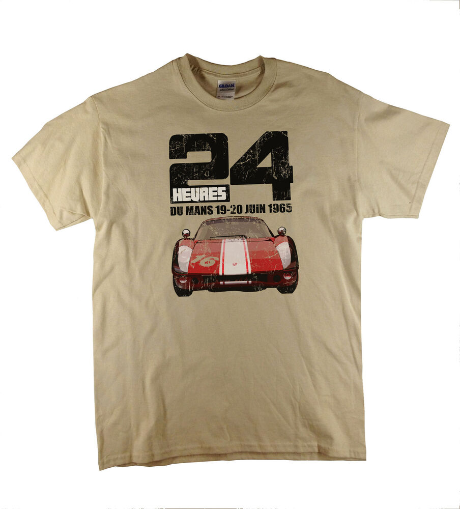 Du mans 24 heures 24 hours race classic car distressed for 24 hour t shirt printing