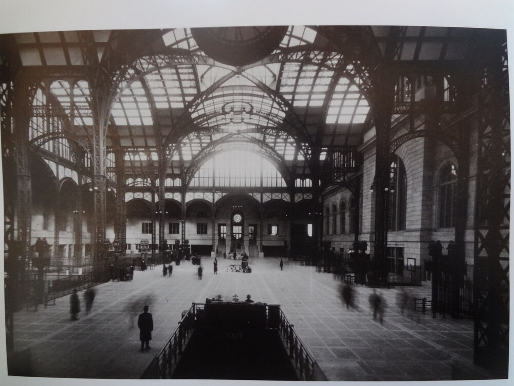 1910 Penn Station Prr Nyc New York City Pennsylvania