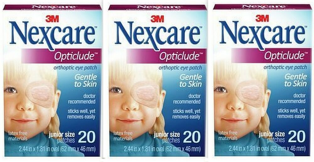 Nexcare eye patch sizes of poodles