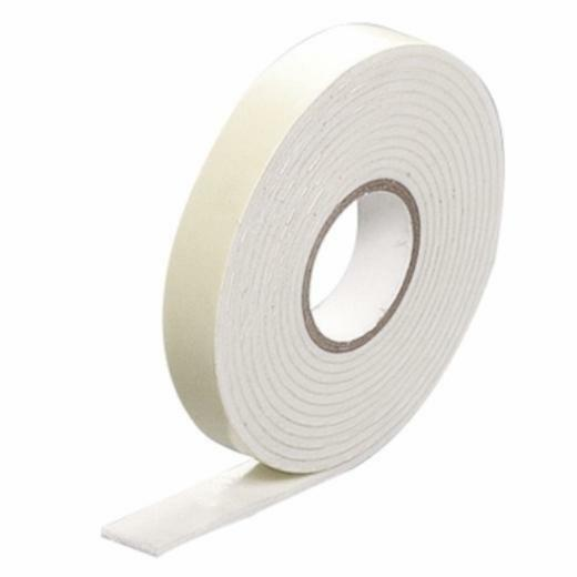 Quality double sided 3d white foam sticky tape roll for Double sided craft tape