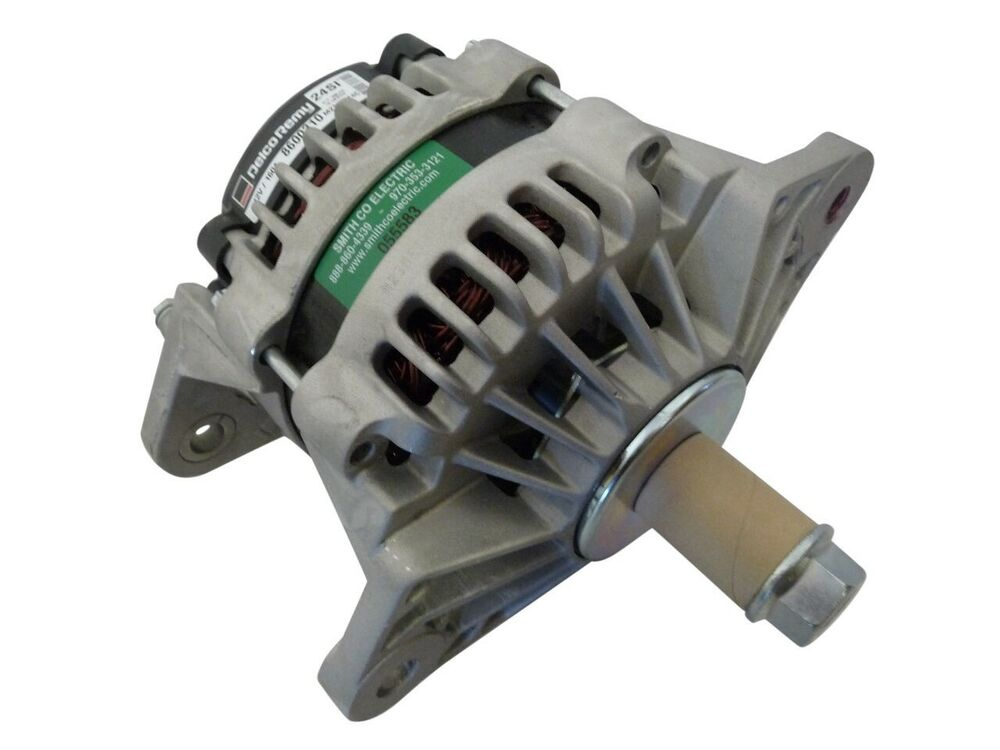 8600310  New  Oe Delco 24si Alternator 12v 160a J180 Mount