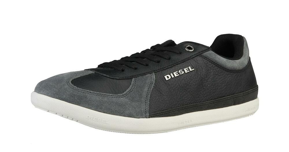 diesel herren sneaker schuhe men shoes schwarz black neu. Black Bedroom Furniture Sets. Home Design Ideas
