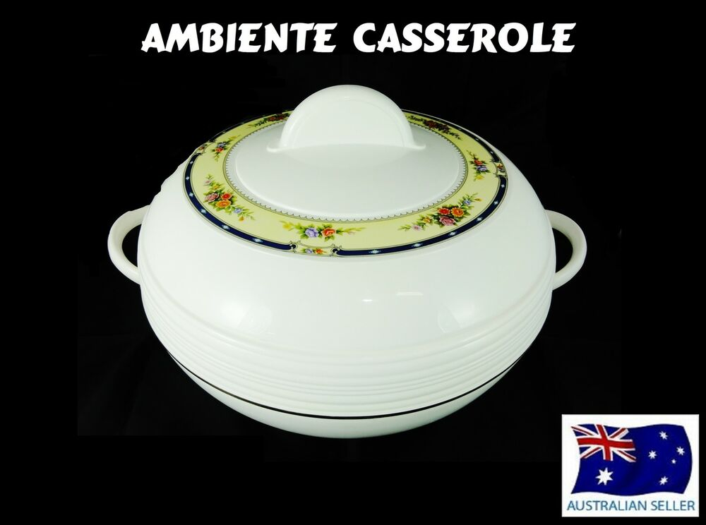 Insulated Food Warmers ~ Ambiente food warmer insulated stainless steel casserole