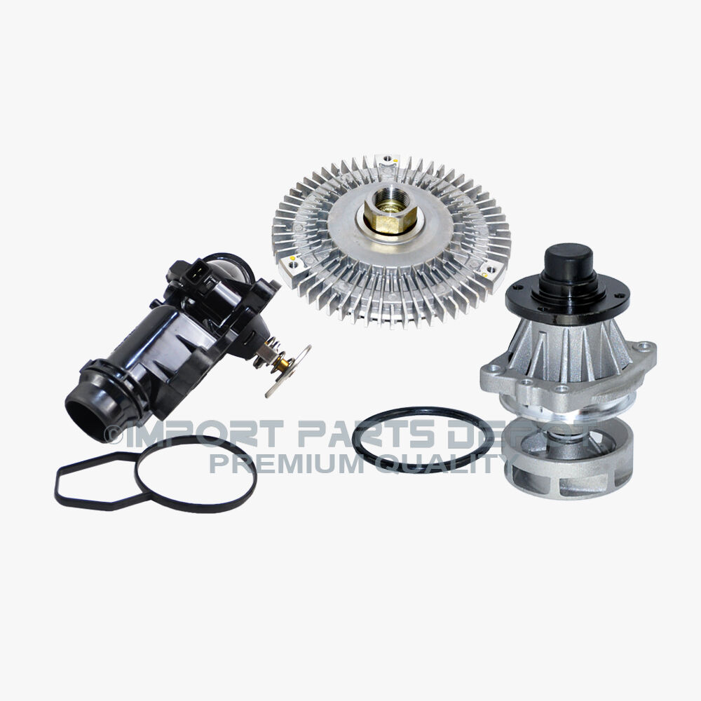 Bmw Water Pump Fan Clutch Thermostat Assembly Kit