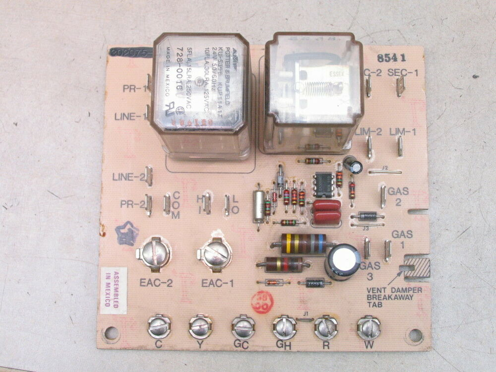 s l1000 carrier furnace ebay 5 Wire Thermostat Wiring at panicattacktreatment.co
