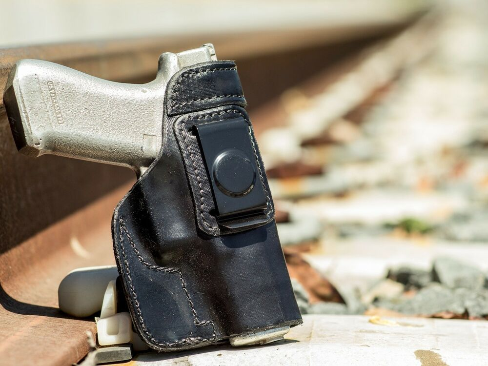 Glock 17 / G17 9mm | Full Grain Leather IWB Conceal Carry ...