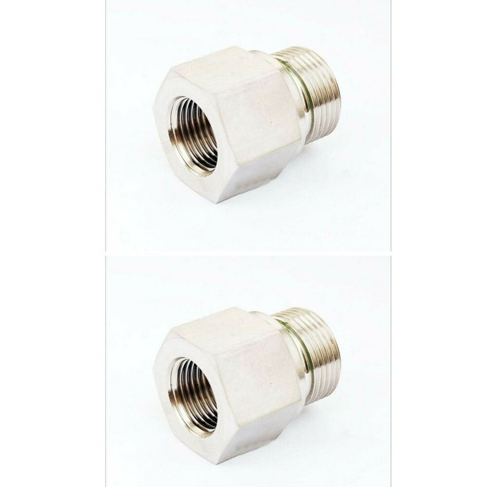 Pcs m male to quot female npt thread adapter