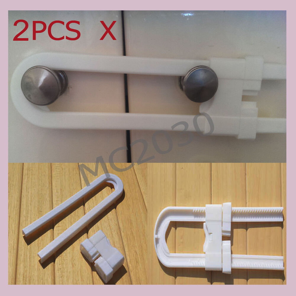 Safety Door Locks For Toddlers : Oz stocks pcs baby cabinet cupboard locks door safety