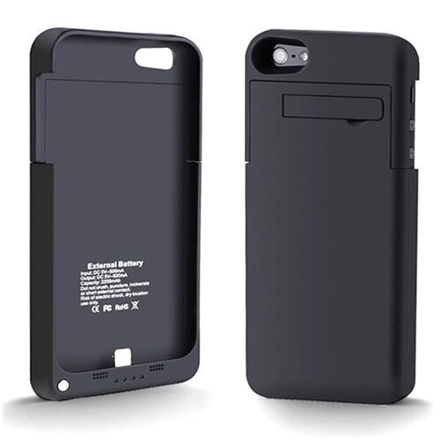 iphone 5 case charger external power pack extended battery charger charging 14492
