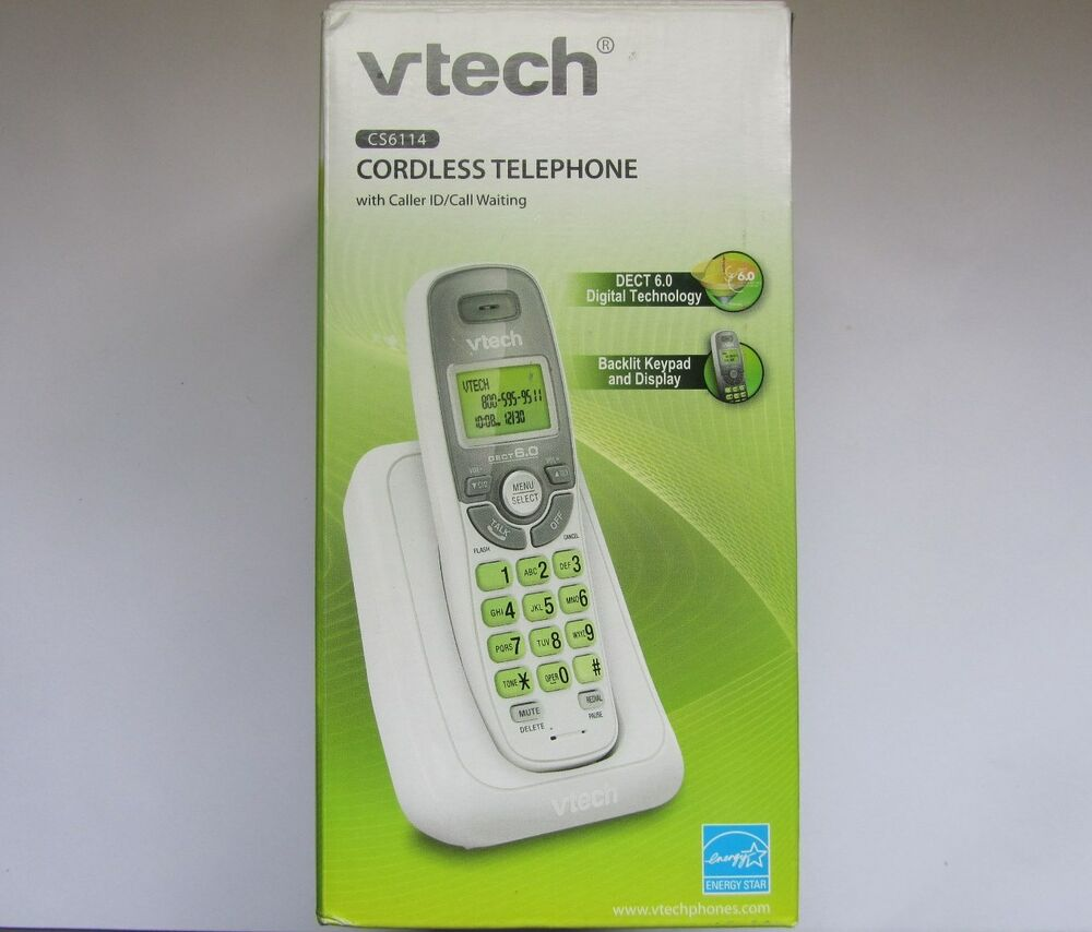 VTech CS6114 Cordless Telephone with Caller ID and Call ... Daily Caller