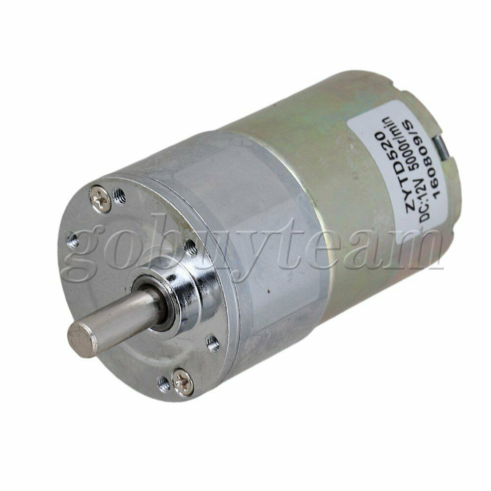 New Reversible 12v Dc 200 Rpm Gear Box Speed Control