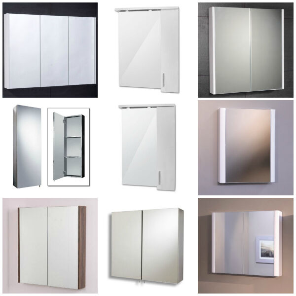 bathroom mirror cabinets wall mounted soft close door modern mirror