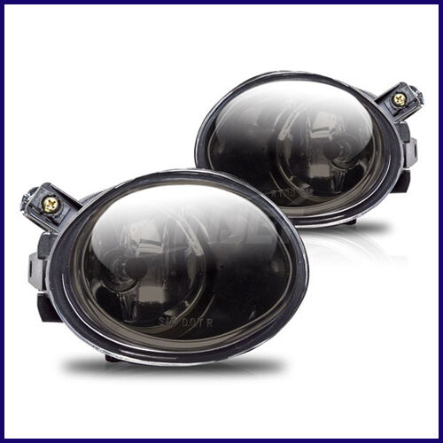 2001 2003 Bmw E39 Oem Replacement Smoked Fog Lights Lamps