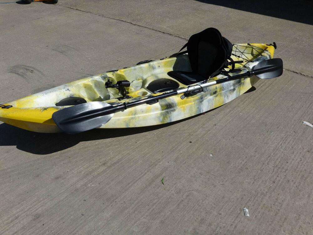 Sit on top fishing kayak canoe galaxy cruz new 2016 model for Best sit on top fishing kayak
