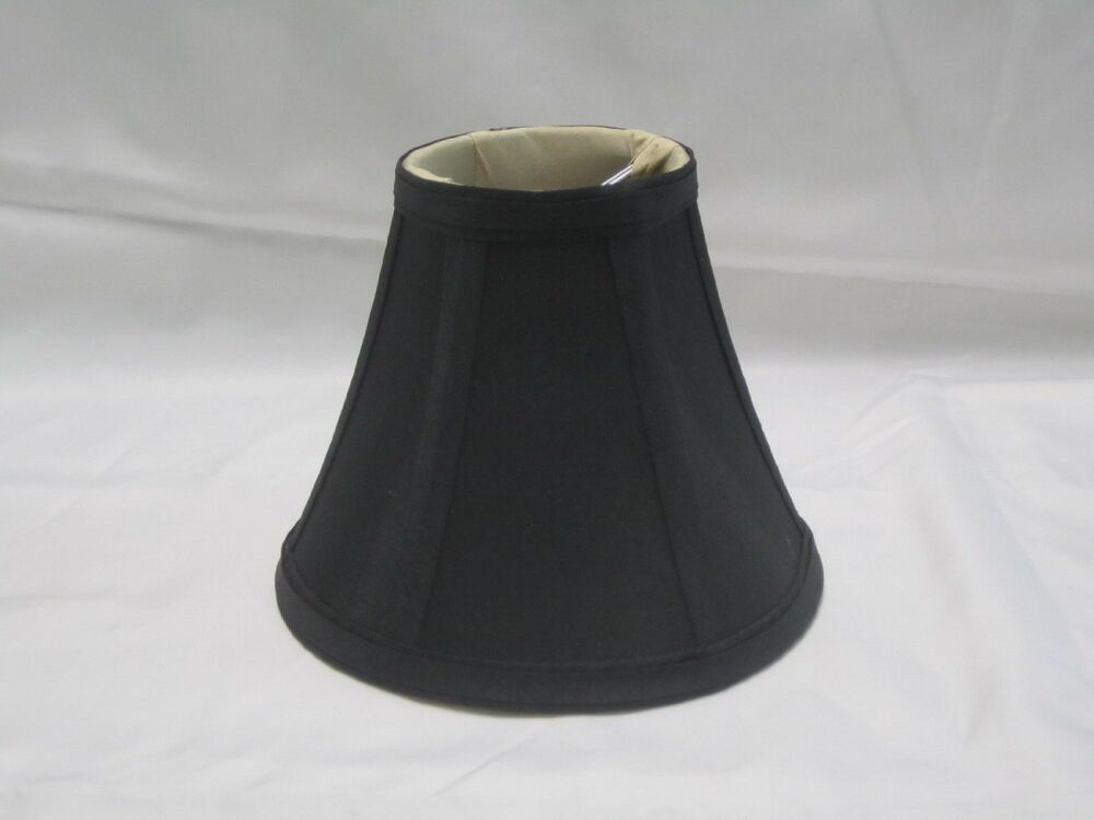 chandelier mini lamp shade softback bell silk 3 x6 x5 cli. Black Bedroom Furniture Sets. Home Design Ideas