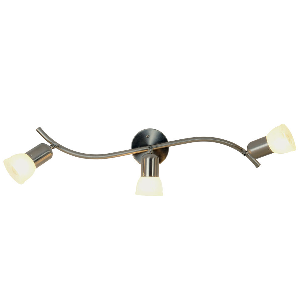 Ceiling Light Offers: Monument 617622 Contemporary 3-Light Ceiling Fixture In