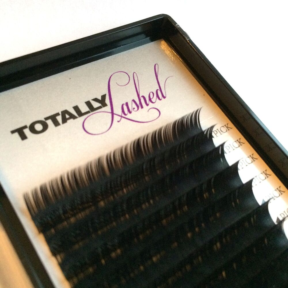 Totally Lashed Individual Eyelash Extensions Synthetic Mink Big