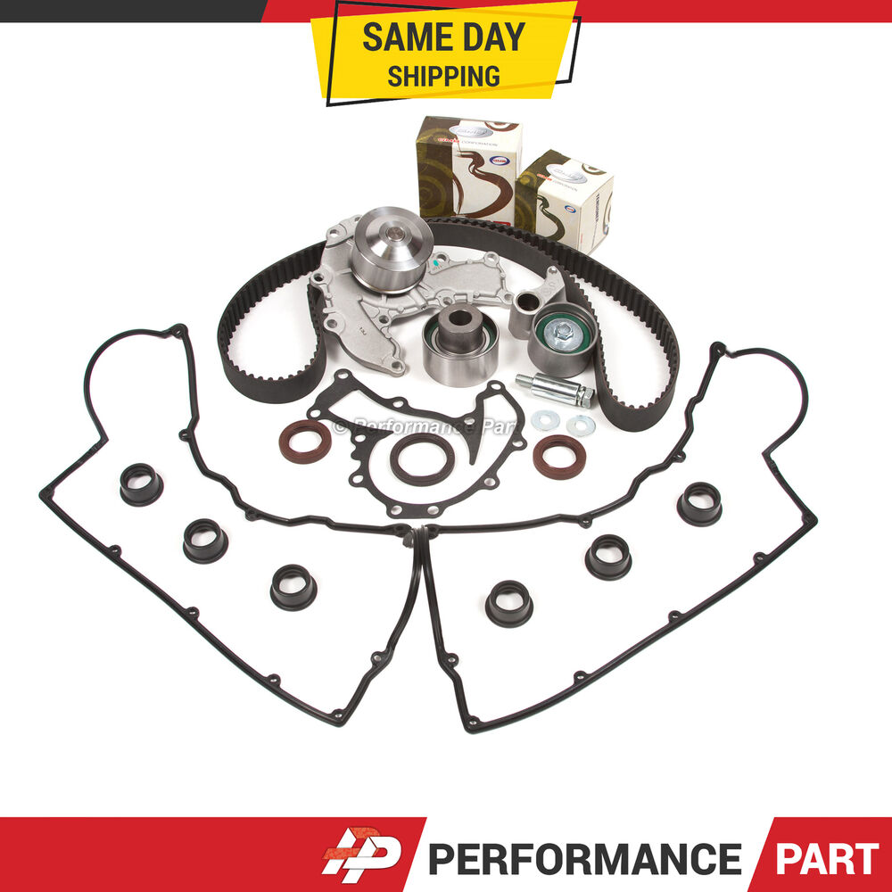 Timing belt water pump kit valve cover acura honda isuzu